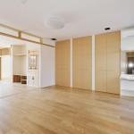 松戸の家(居間・寝室)