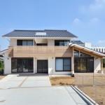 松戸の家(外観-南面)