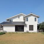 松戸の家(外観-東面)