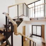 松戸の家(階段)
